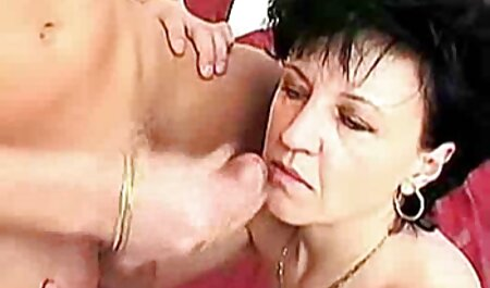 Brunette in stockings loves sexvid to suck cock